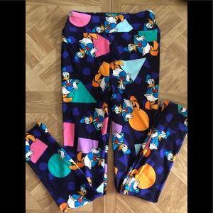 Donald Duck  Kids leggings size L/XL
